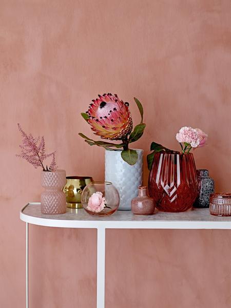 Bloomingville Pink Glass Vase