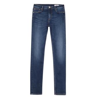 ea873f864fc20c Trouva: Arnel High Waist Skinny Jeans-Blue B-25