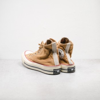 Coffee Dye Chuck Taylor OX 70s Canvas Shoes