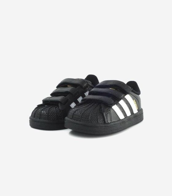 adidas superstar negras infantil