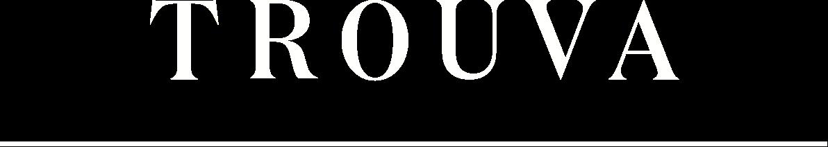 Trouva white logo