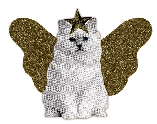 Kitten Cat Christmas Tree Topper