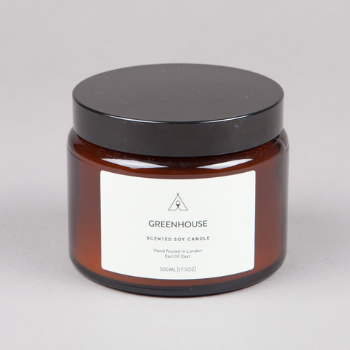 Trouva Earl Of East London Large Soy Wax Candle Greenhouse