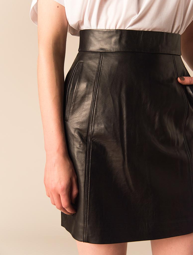 20dec7c4c0 Trouva: FWSS Neptune Leather Skirt