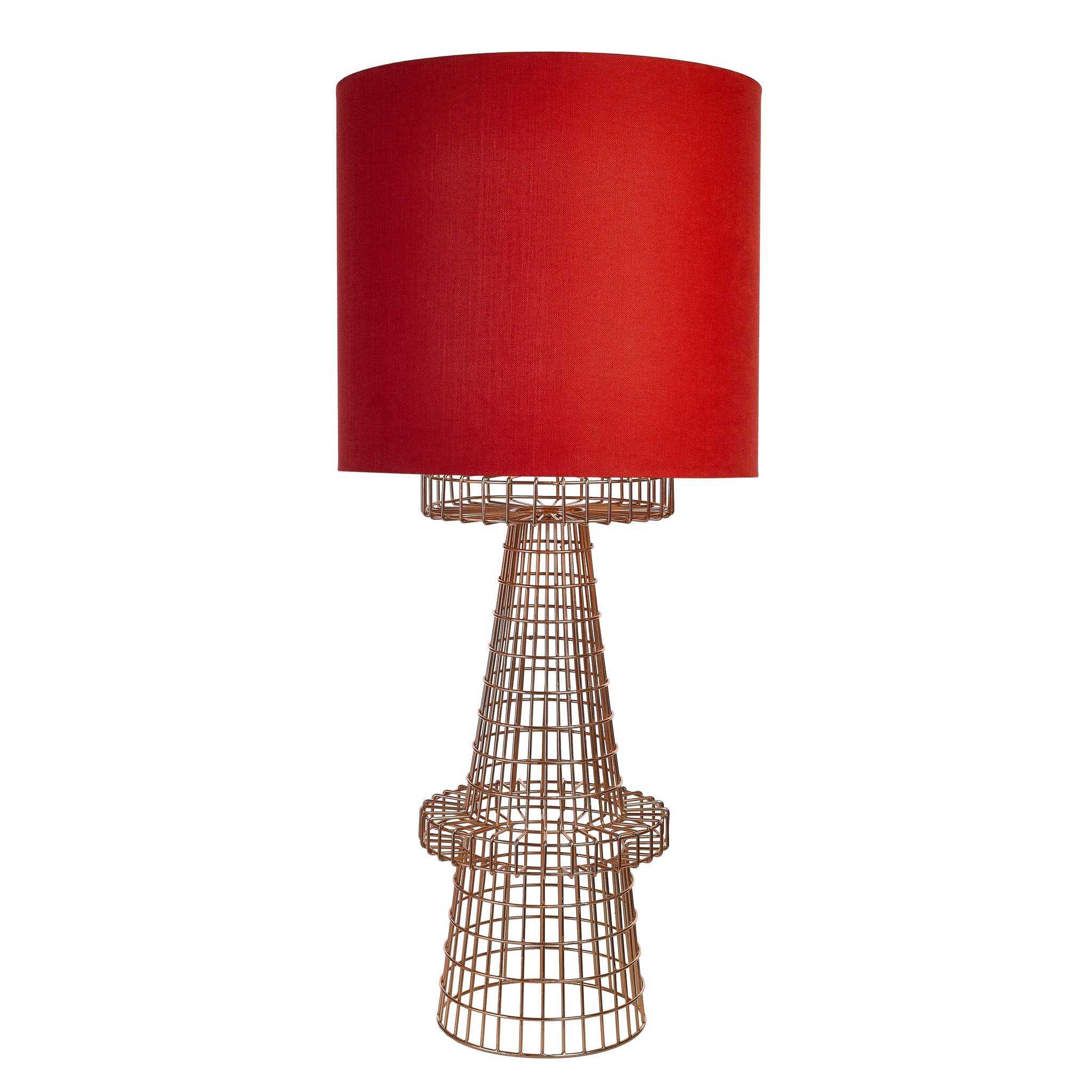 Trouva Copper Wire Floor Lamp Wiring A