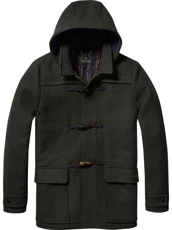 Trouva: Scotch & Soda Hooded Duffle Coat