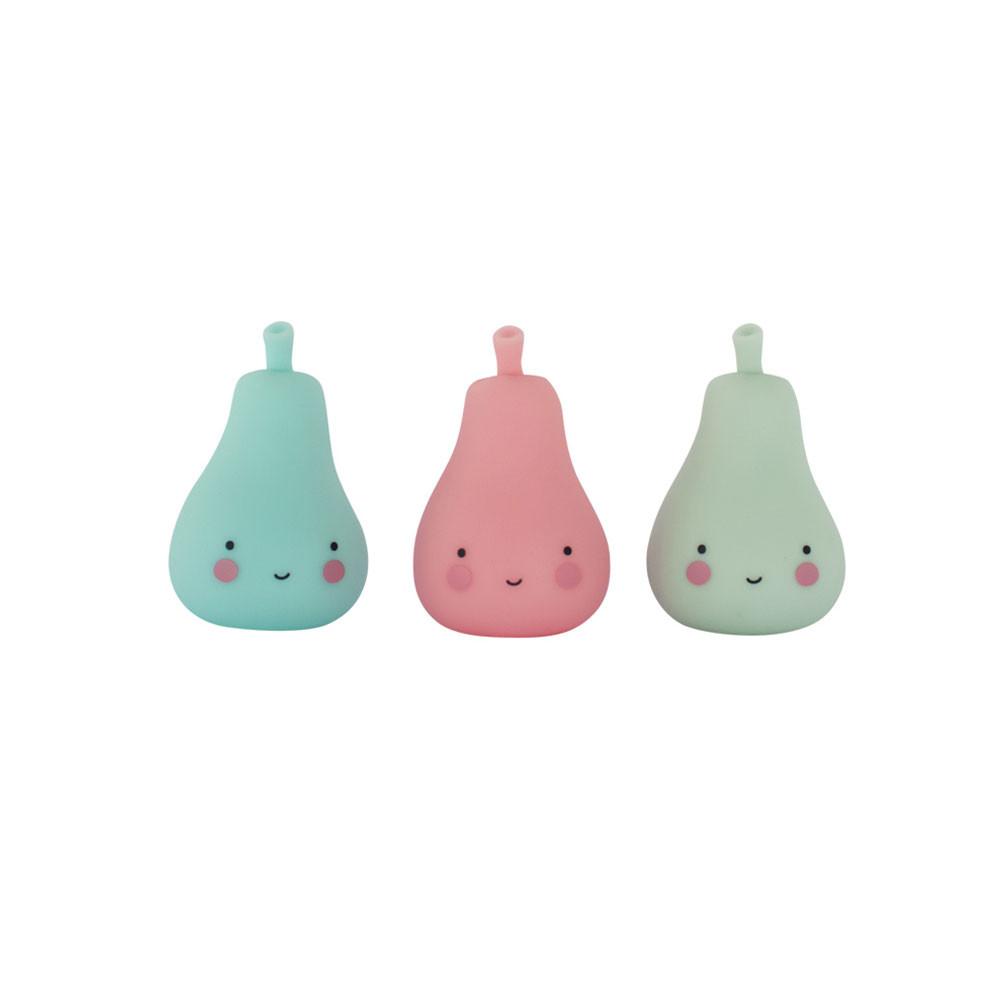 Lighting Mini Pear Figurines