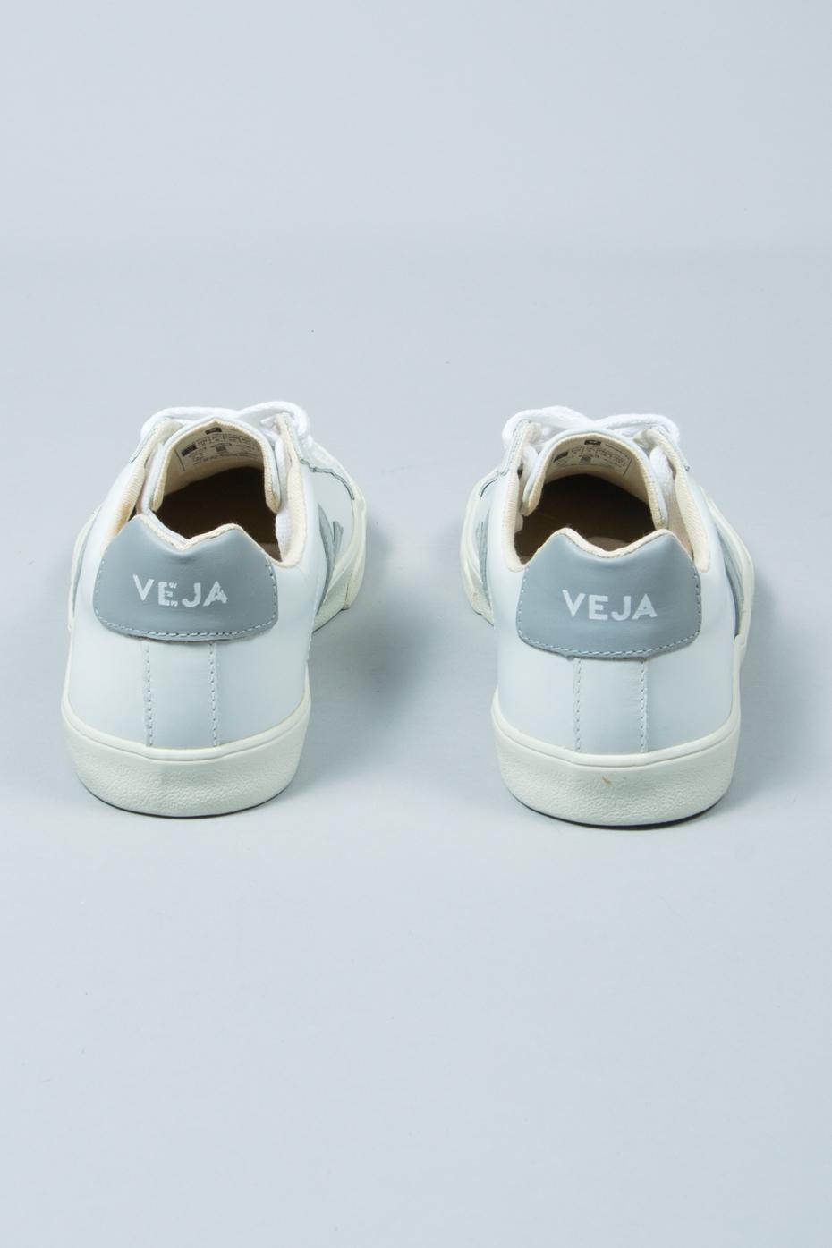 White Oxford Grey Esplar Leather Trainers
