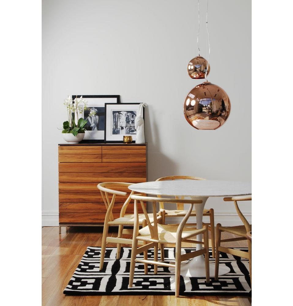 Trouva: Tom Dixon Small Copper Globe Pendant Light