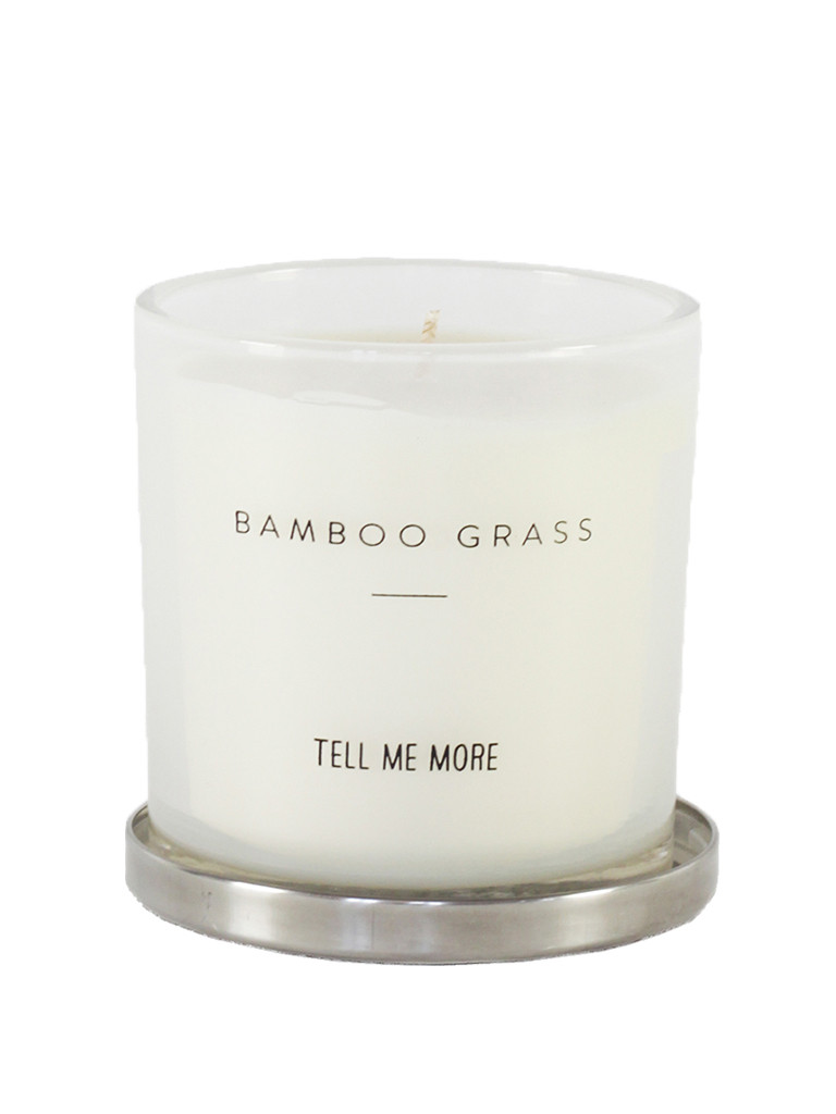 Trouva Tell Me More Bamboo Grass Candle