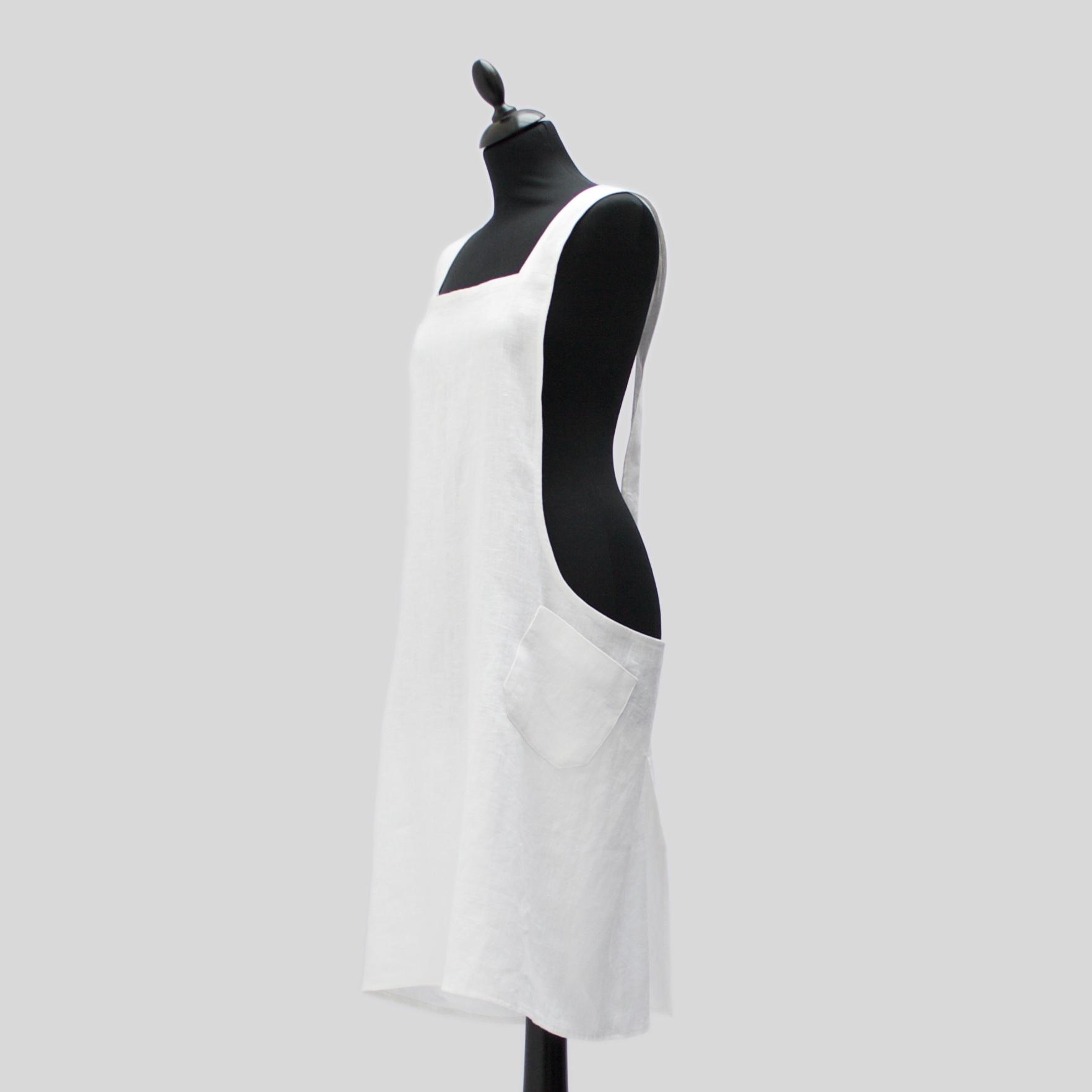 trouva design home interiors linen smock apron