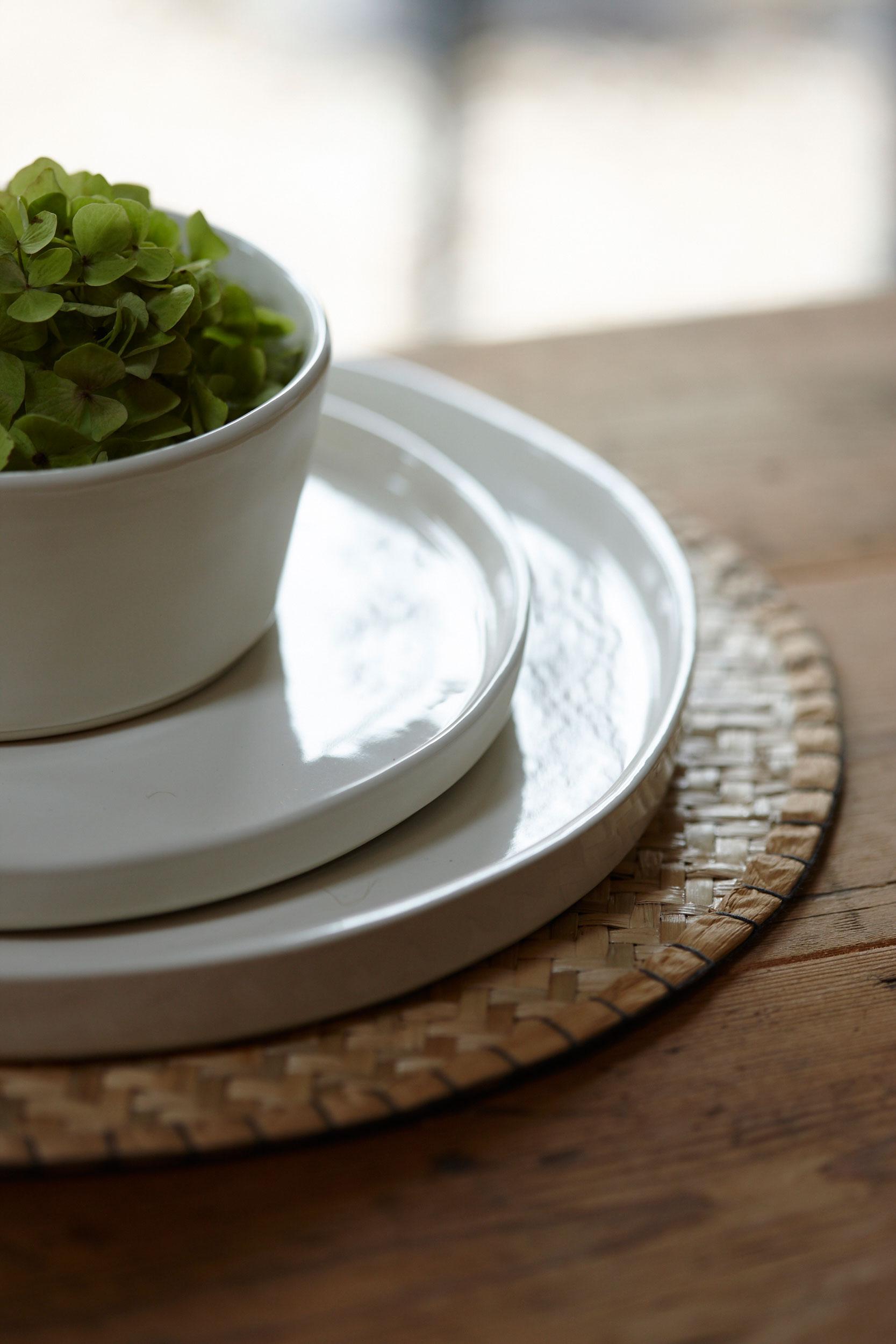 Also Home Krem Ceramic Dinner Plate