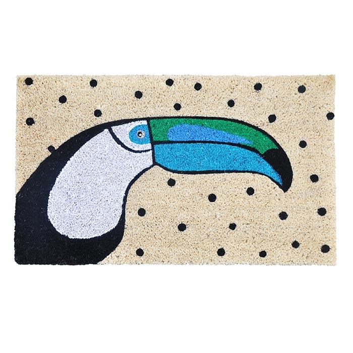 Trouva Bombay Duck Toucan Doormat