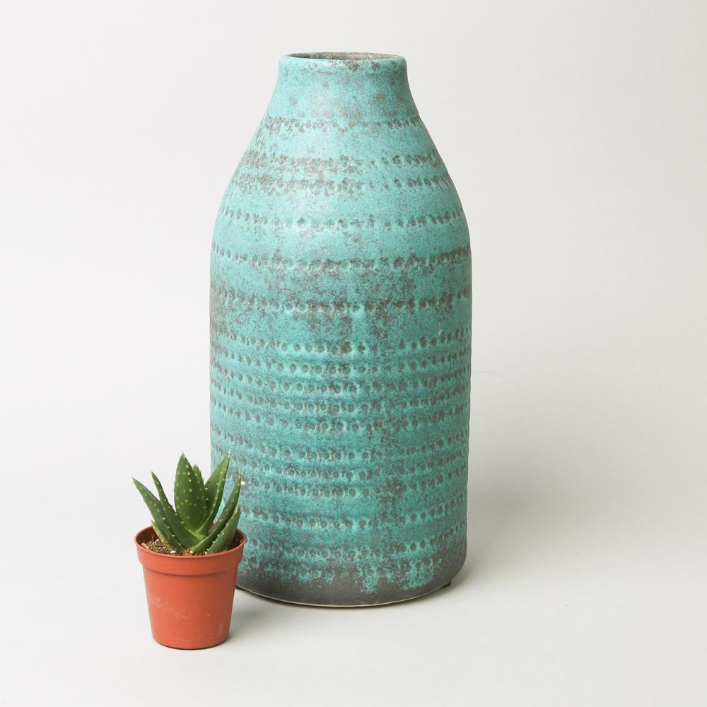 Home & Garden Green Aged Helena Vase