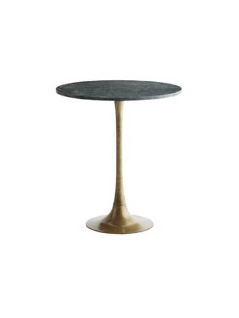 Trouva: Green Marble Bistro Table