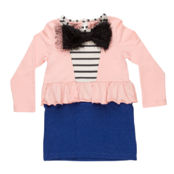 Fay Tuxedo Girls Dress