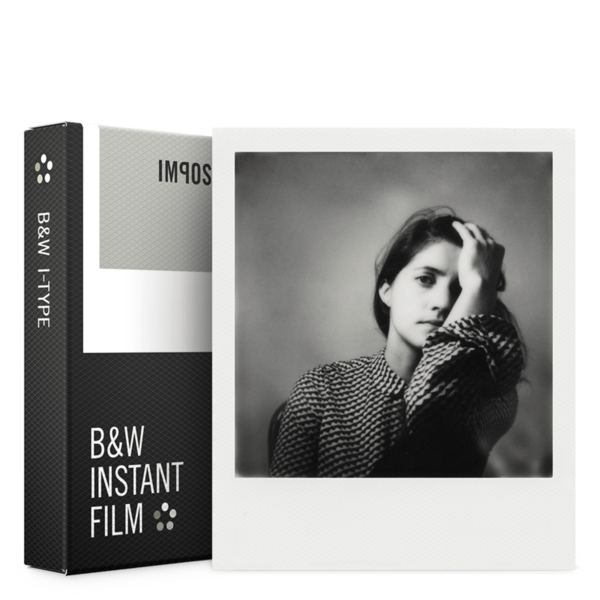Art I 1 Black White Instant Analog White Framed Refill Photos Pack Of 8 Photos
