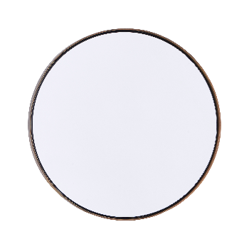 Trouva House Doctor Large Brass Round Mirror