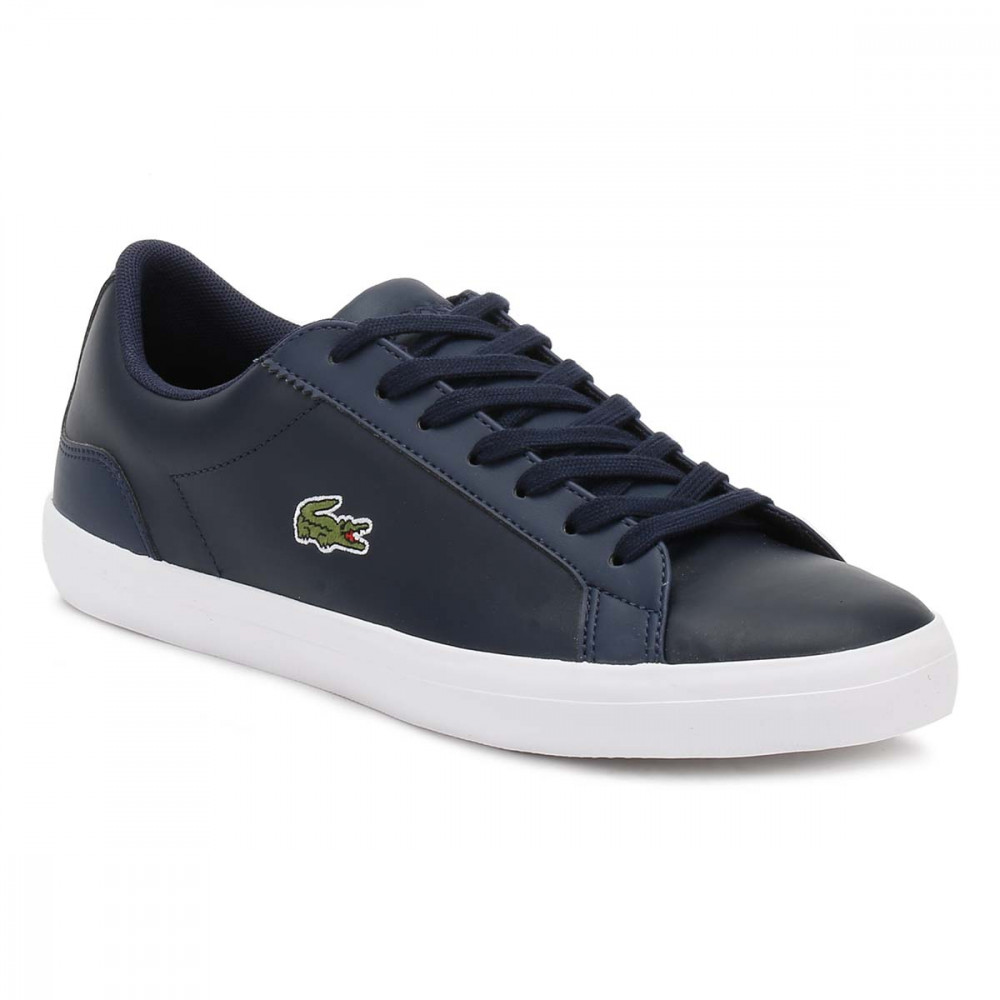 c71063cae9ee67 Trouva  Lacoste Mens Navy Lerond BL 1 CAM Trainers