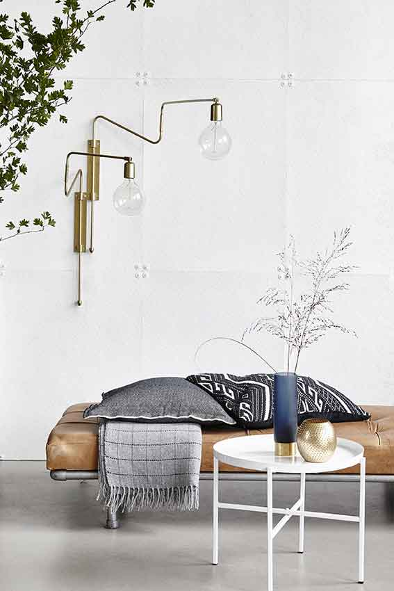 Trouva: House Doctor Swing Brass Wall Light
