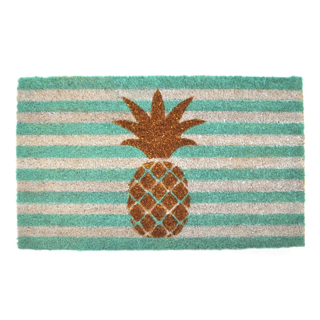 Pineapple Glitter Doormat