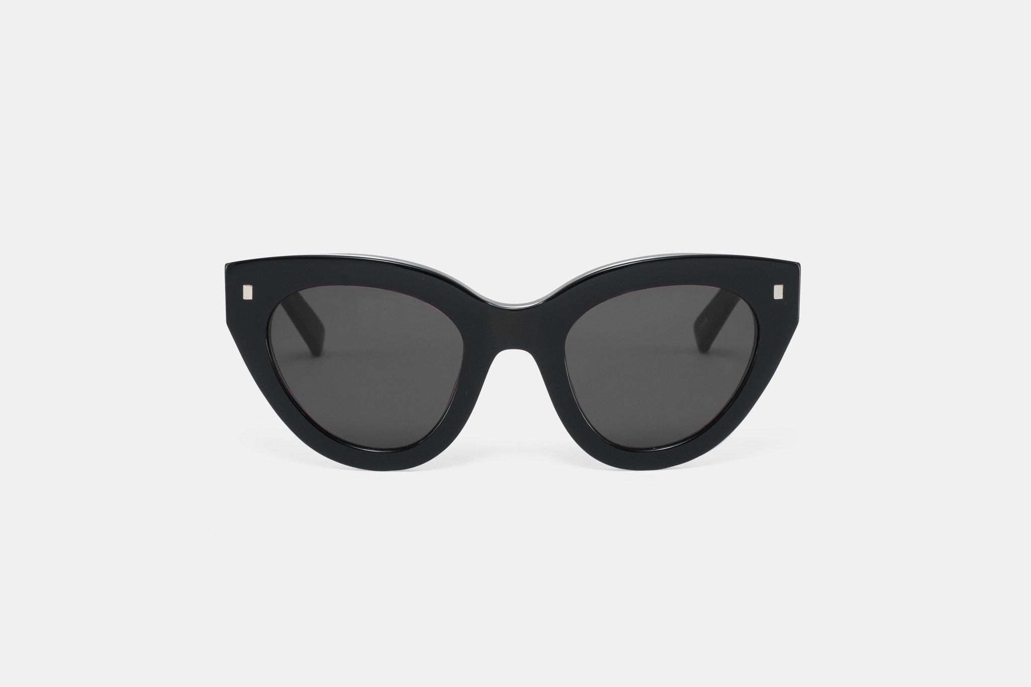 38460a2c1d Trouva  Neko Black Unisex Sonnenbrillen