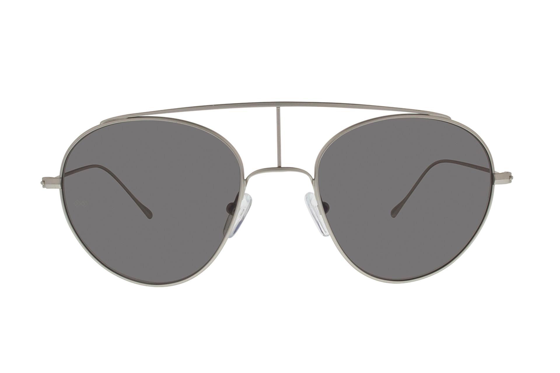 5074538c90 Smoke x Mirrors Matte Silver Geo Vi Sunglasses