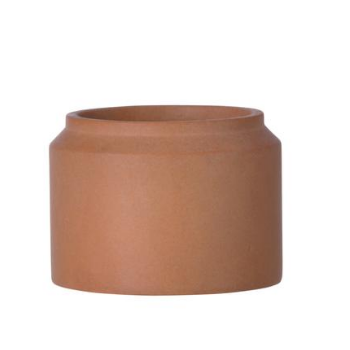 Small Ochre Plant Pot