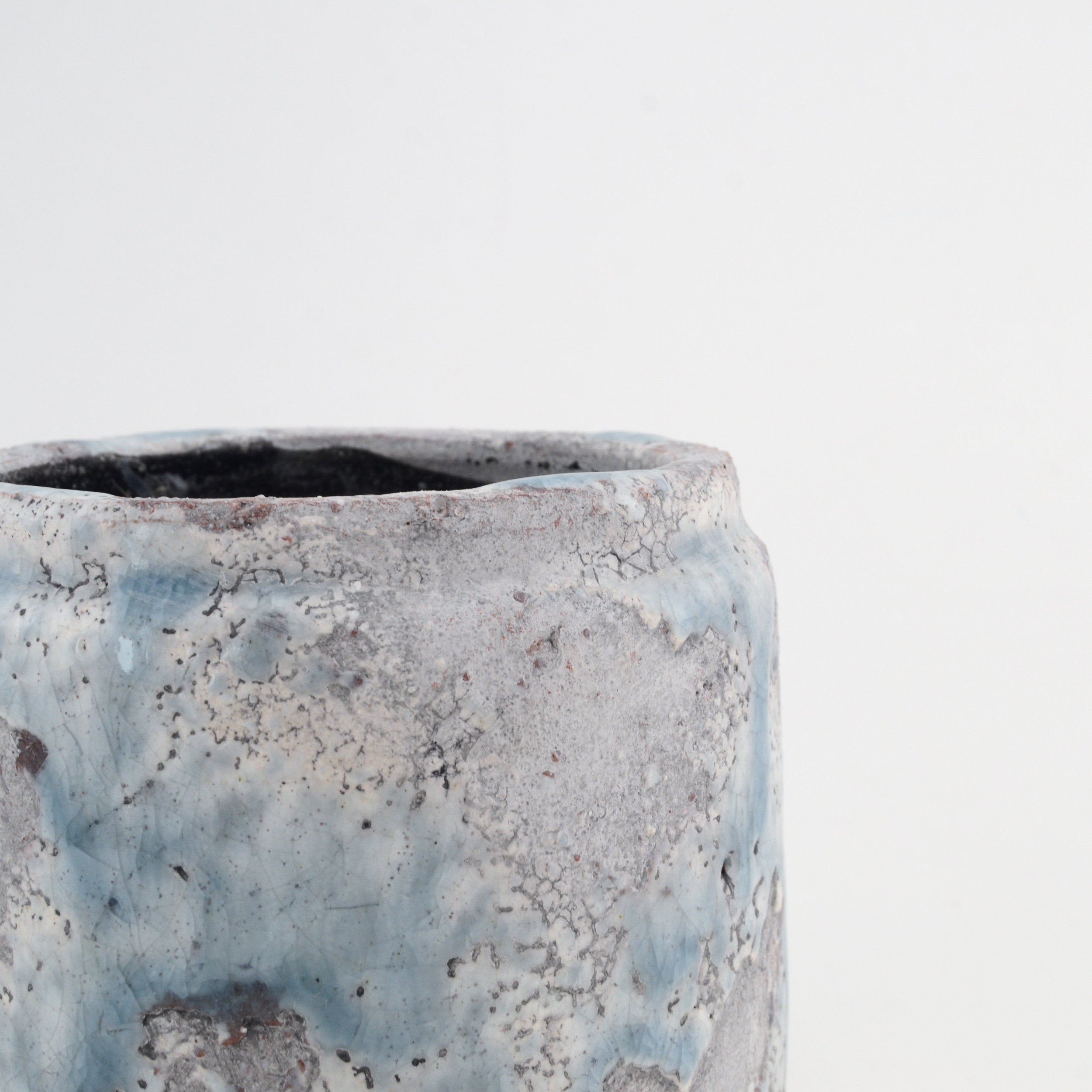 Small Glazed Ceramic Pot