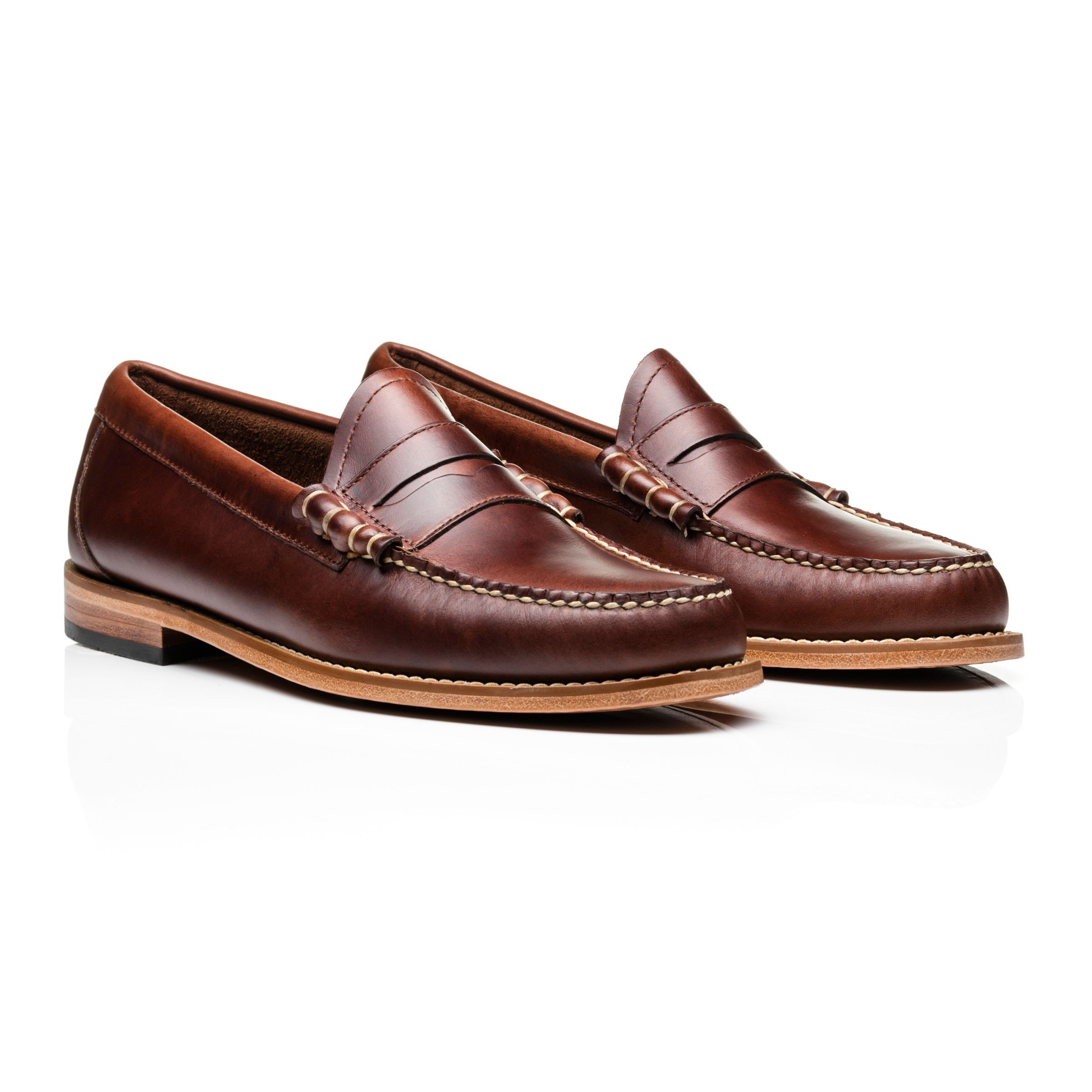 Up Larson Loafers Penny Weejuns TrouvaDark Brown Pull ZiOuPkXT