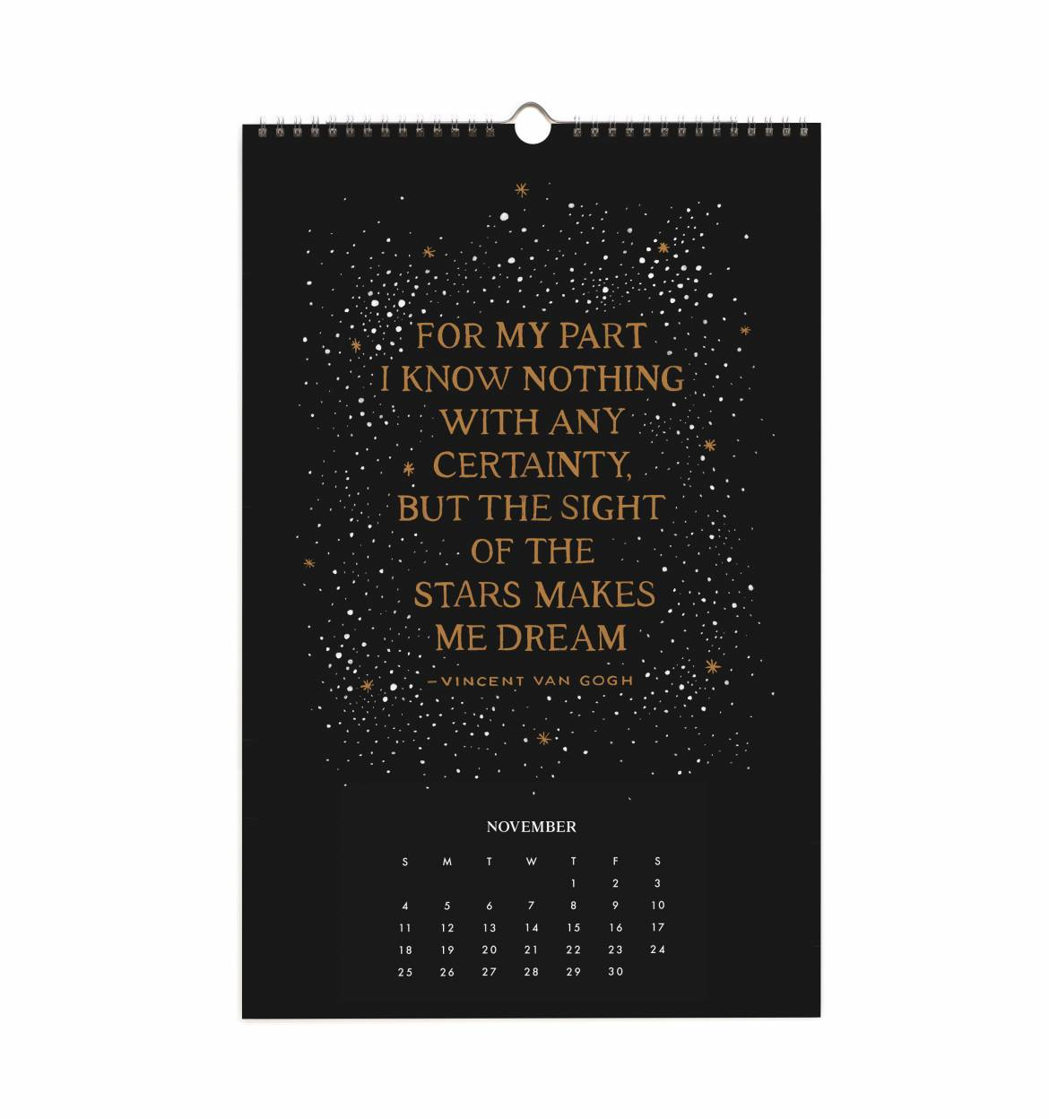 Trouva 2018 Inspirational Quotes Wall Calendar