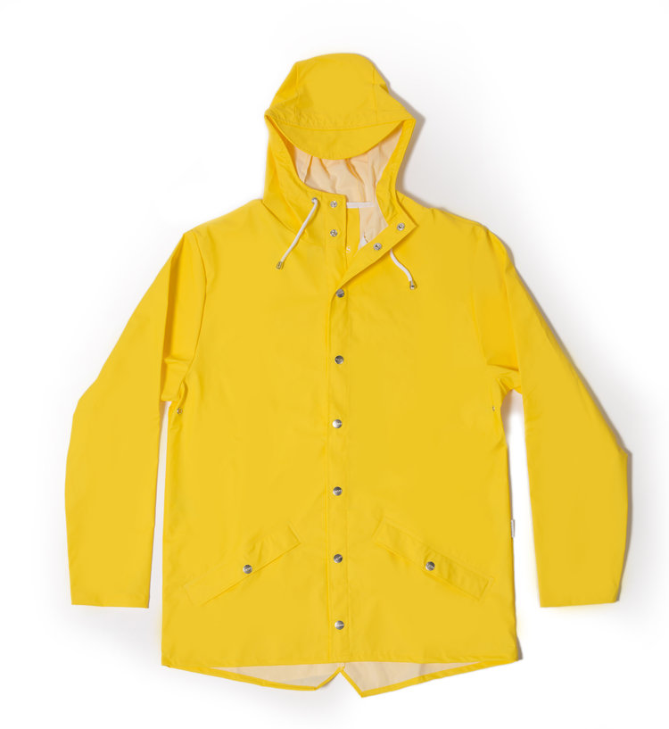 new release clearance new cheap Rains Yellow Waterproof Jacket