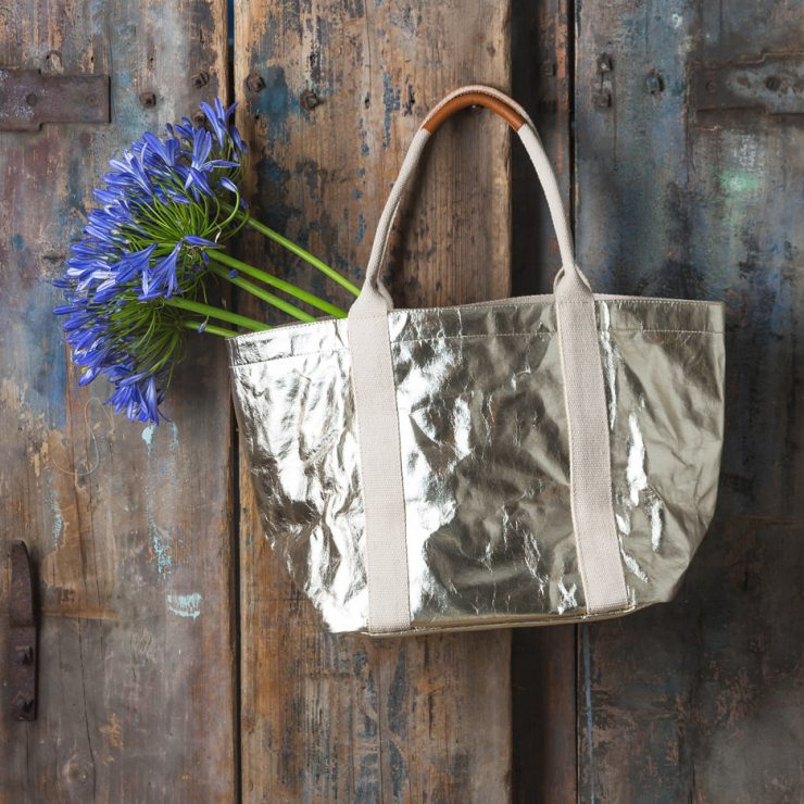 604b5f280 Trouva: Metallic Tote Bag