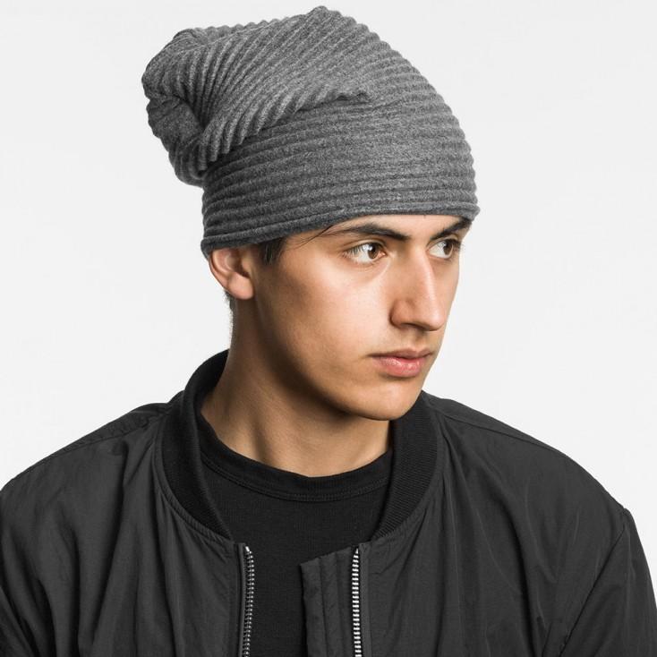 e73ef45de68 ... Design House Stockholm Dark Grey Pleece Beanie Hat