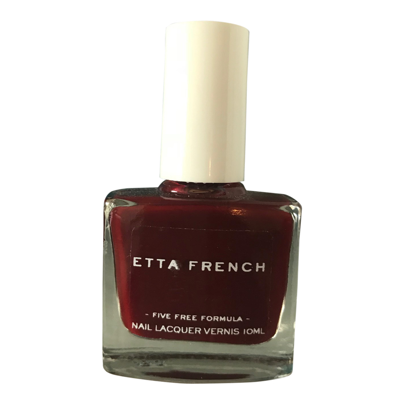 Etta French Red Vamp Vegan Nail Varnish