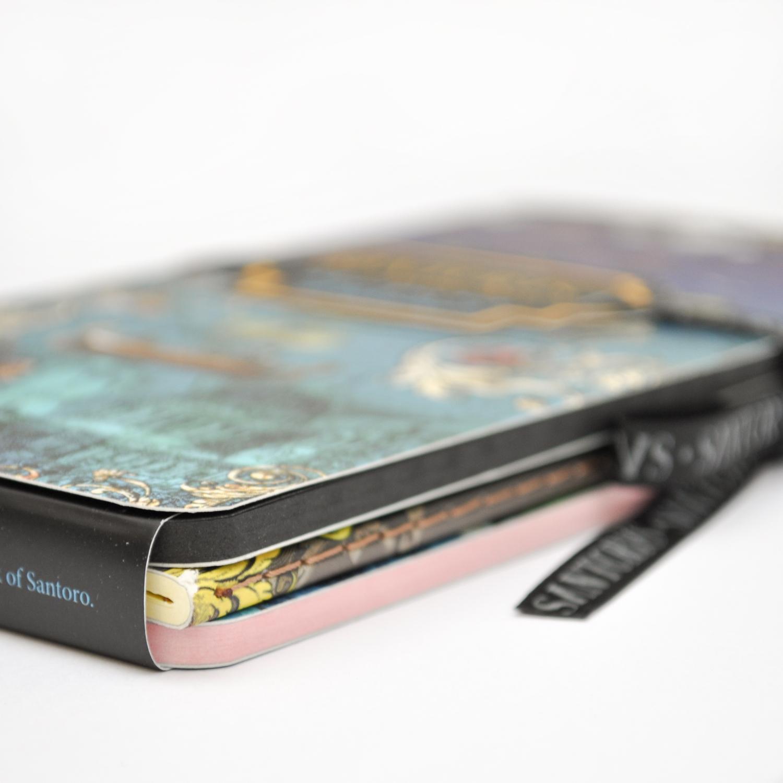 Santorus 'Adventure' Set of Three Mini Notebooks