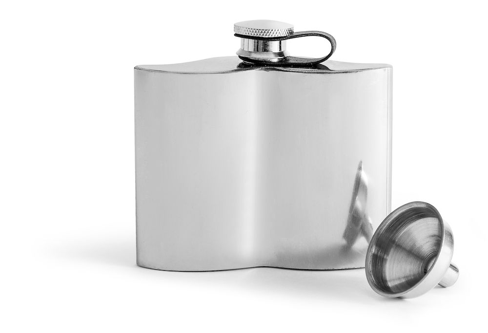 Sagaform Mustache Hip Flask