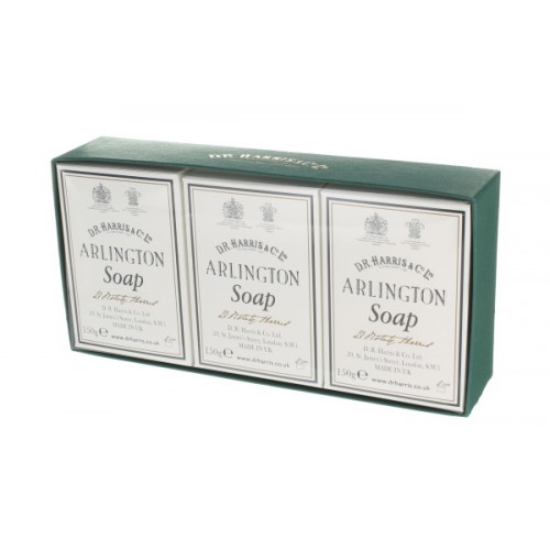 D. R. Harris 3 Pack Arlington Bath Soap