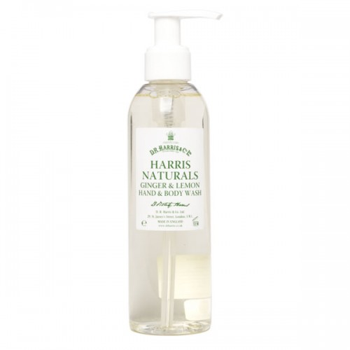 D. R. Harris 30ml Naturals Ginger And Lemon Hand And Body Wash