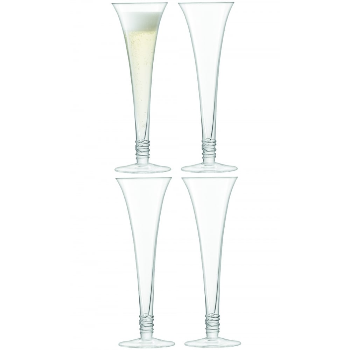 Prosecco Flutes Glasses (Set Of 4)