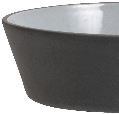 Nordal Small Dark Grey Stoneware Bowl