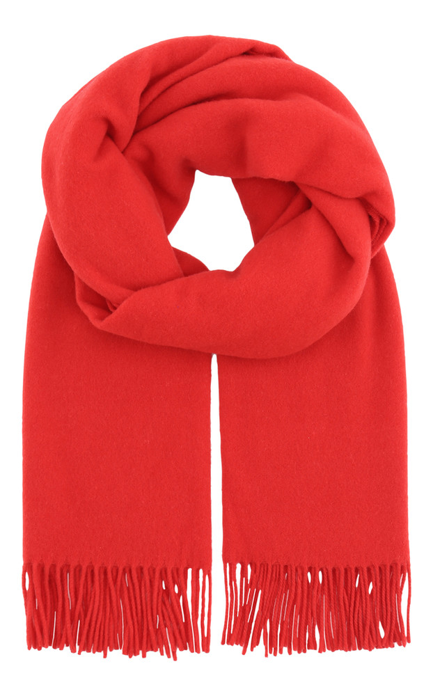 2NDDAY Cherry Red 2ND Harmony Wool Scarf