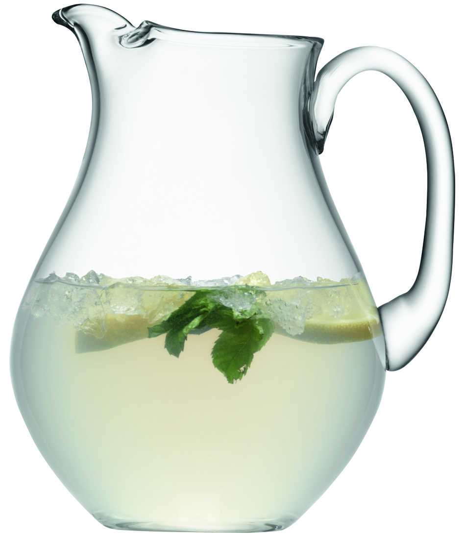 LSA International 2.65L Bar Icelip Glass Jug