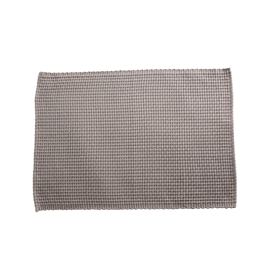 Tine K Home Grey Cotton Placemat