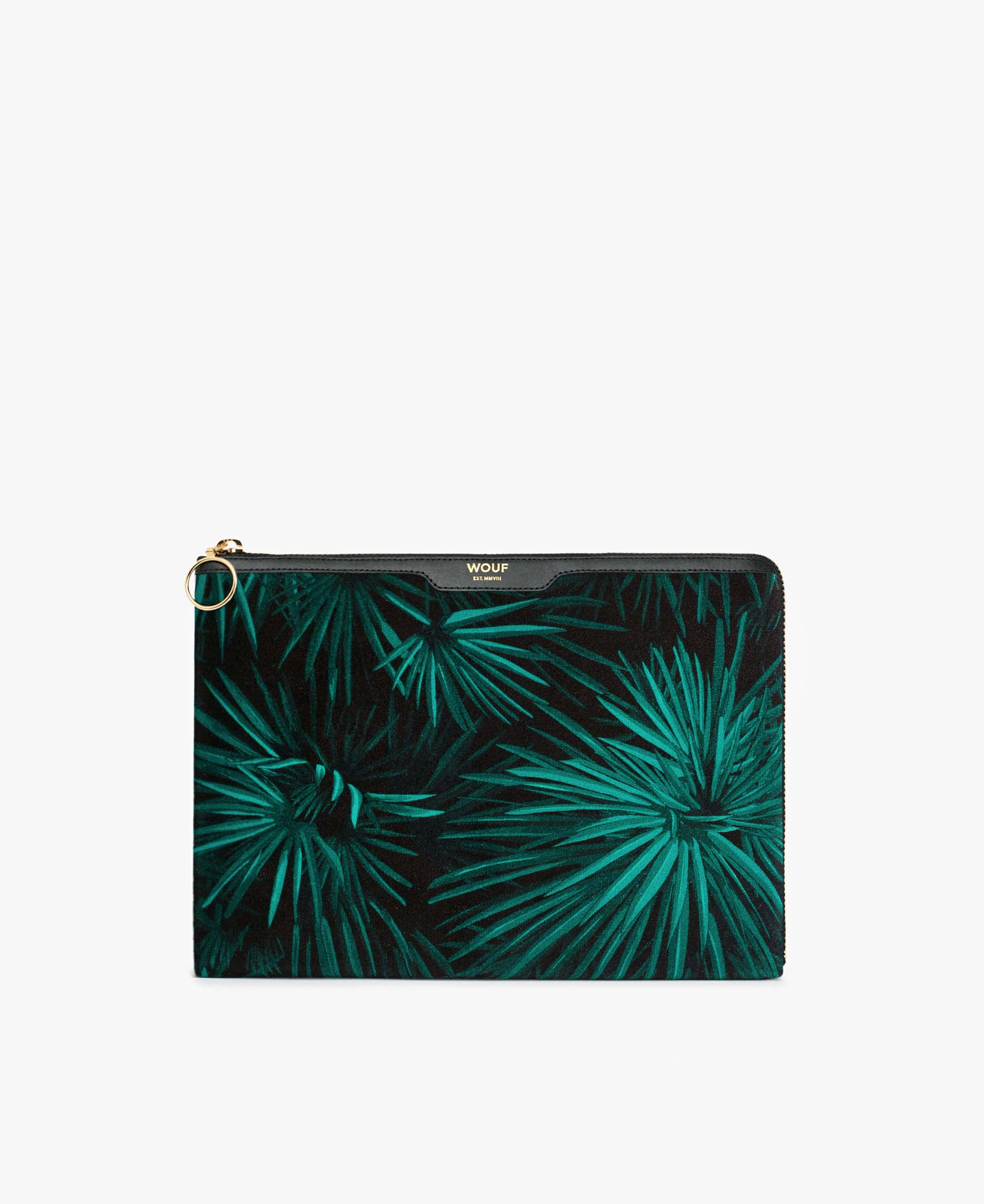 Wouf Amazon Velvet iPad Case