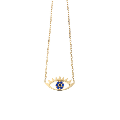 Estella Bartlett  Gold Eye Necklace