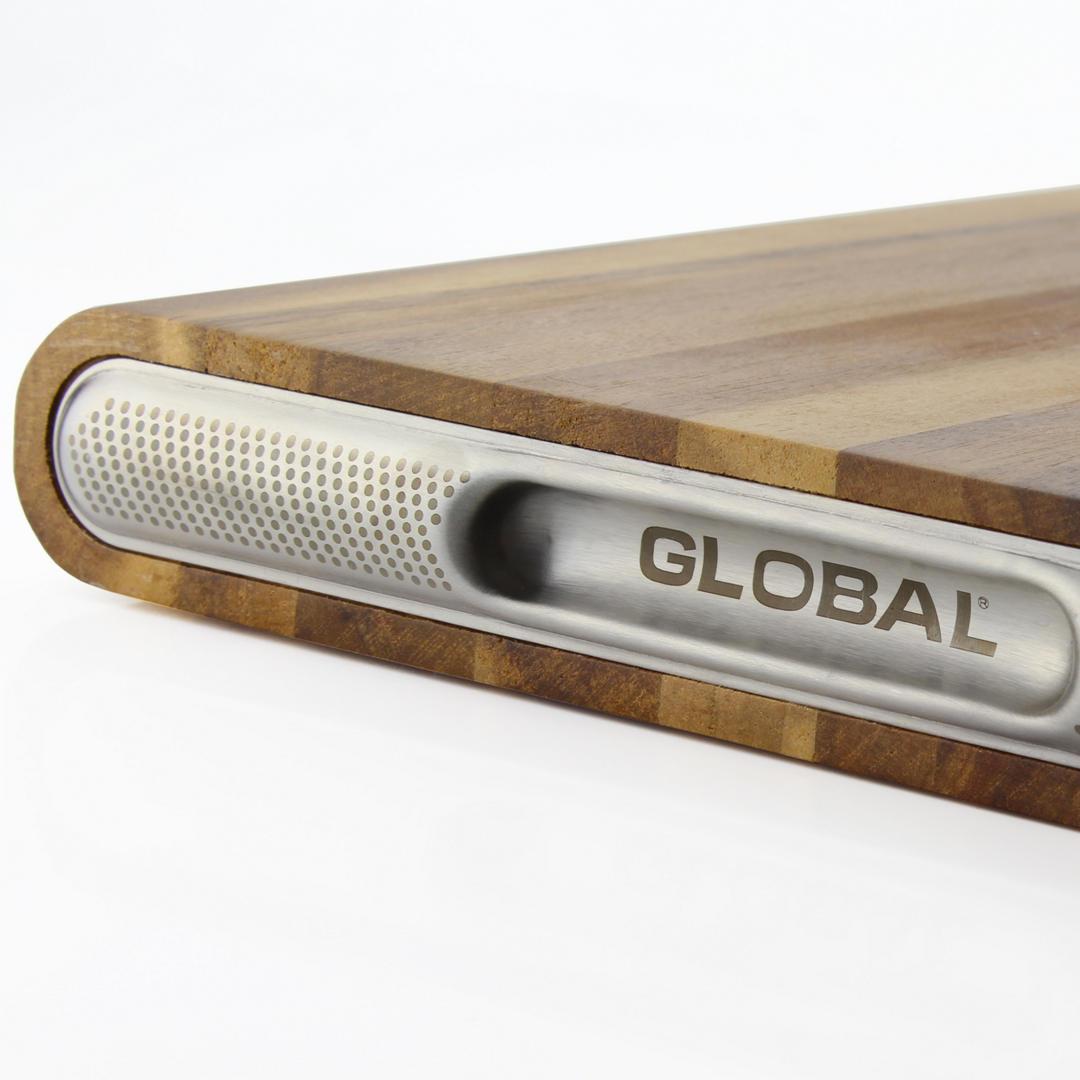 Global Pro Acacia Wooden Cutting Board 45 x 30 x 4.5cm
