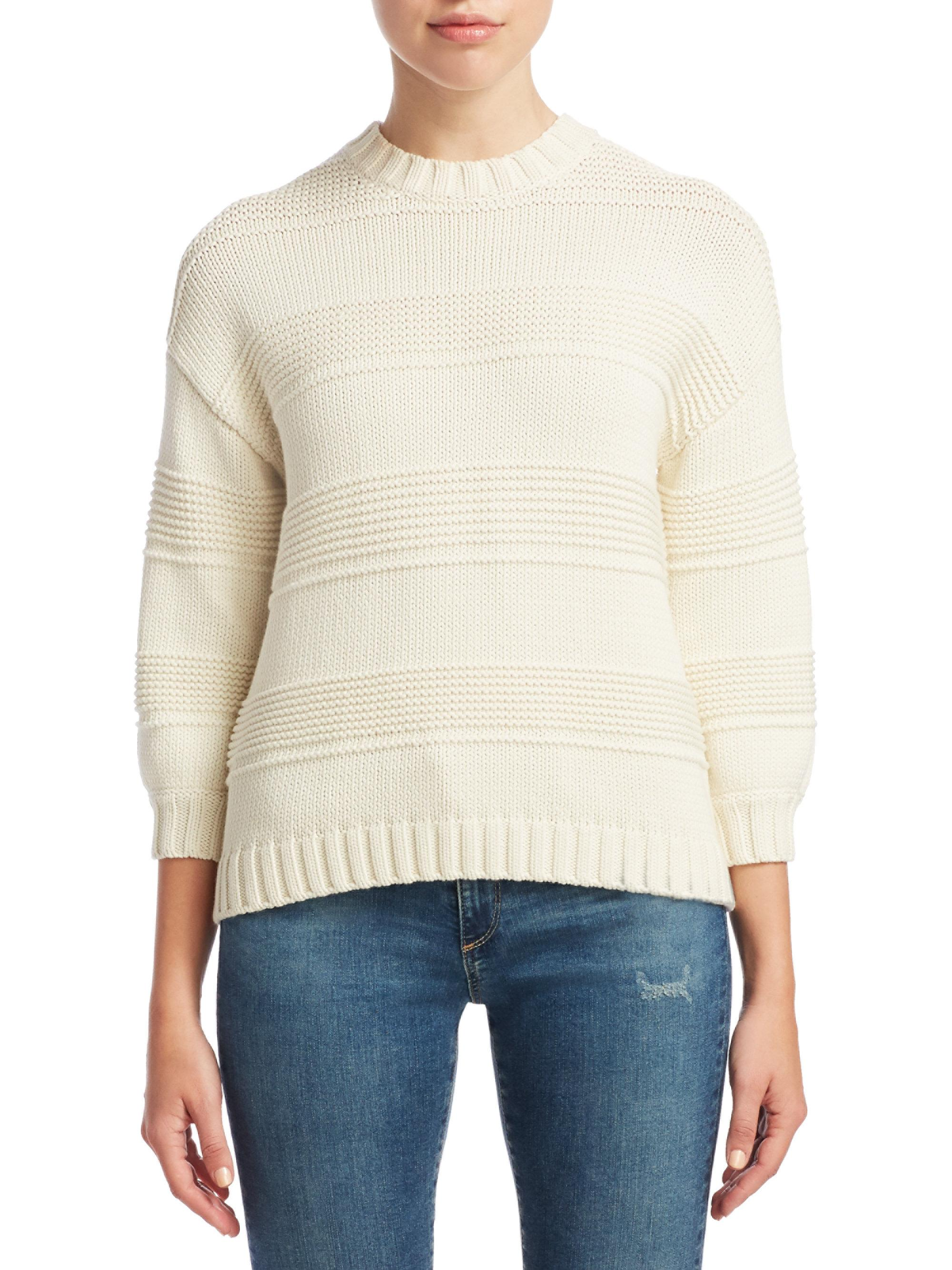 AG Jeans Sabrina Crew Neck Sweater