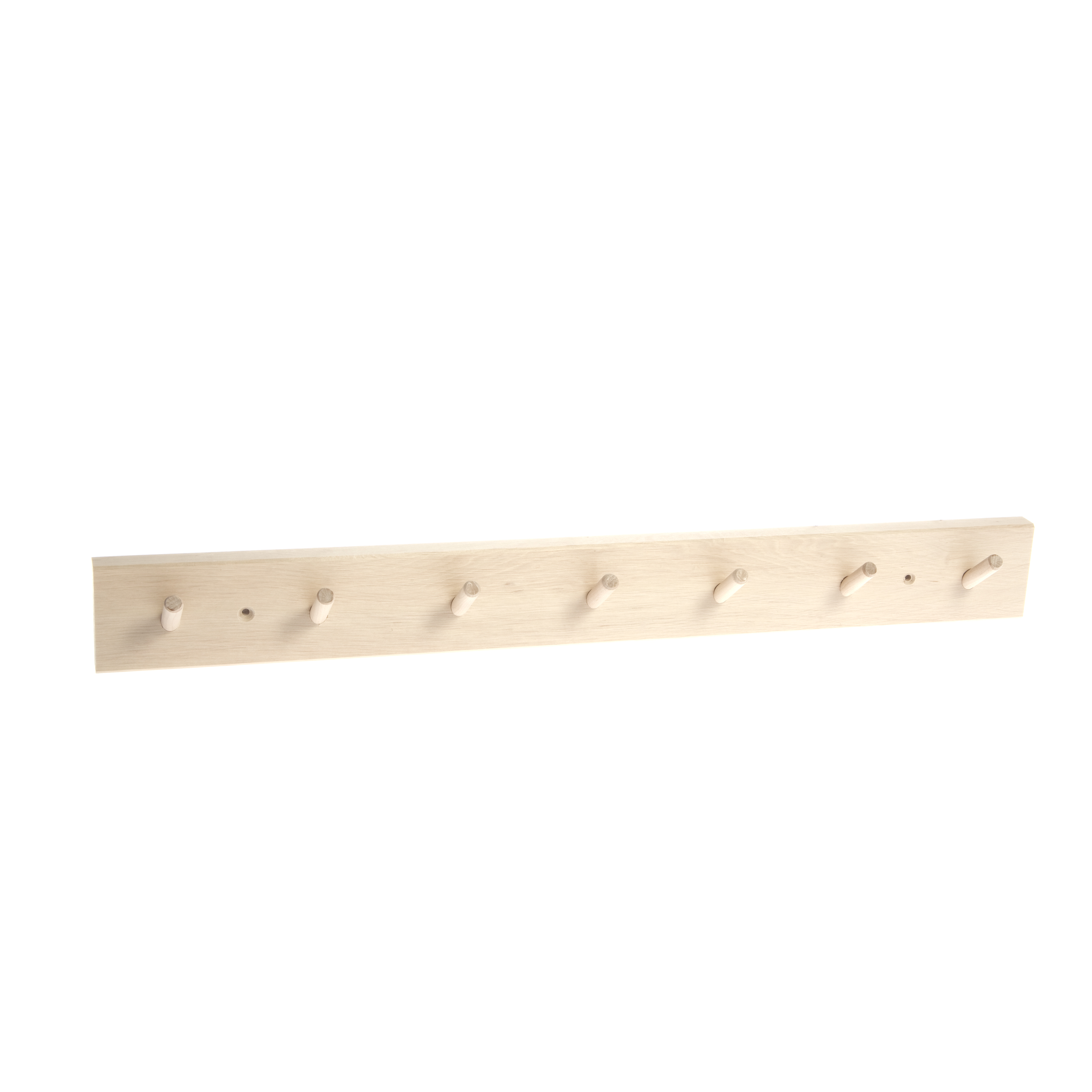 Iris Hantverk Wooden Peg Rack 7 Hooks