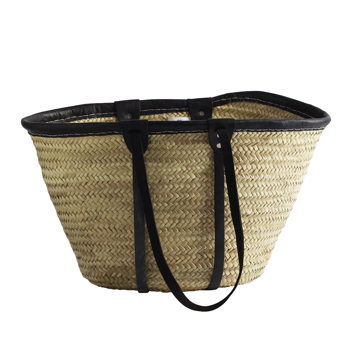 Tine K Home Black Wicker Basket